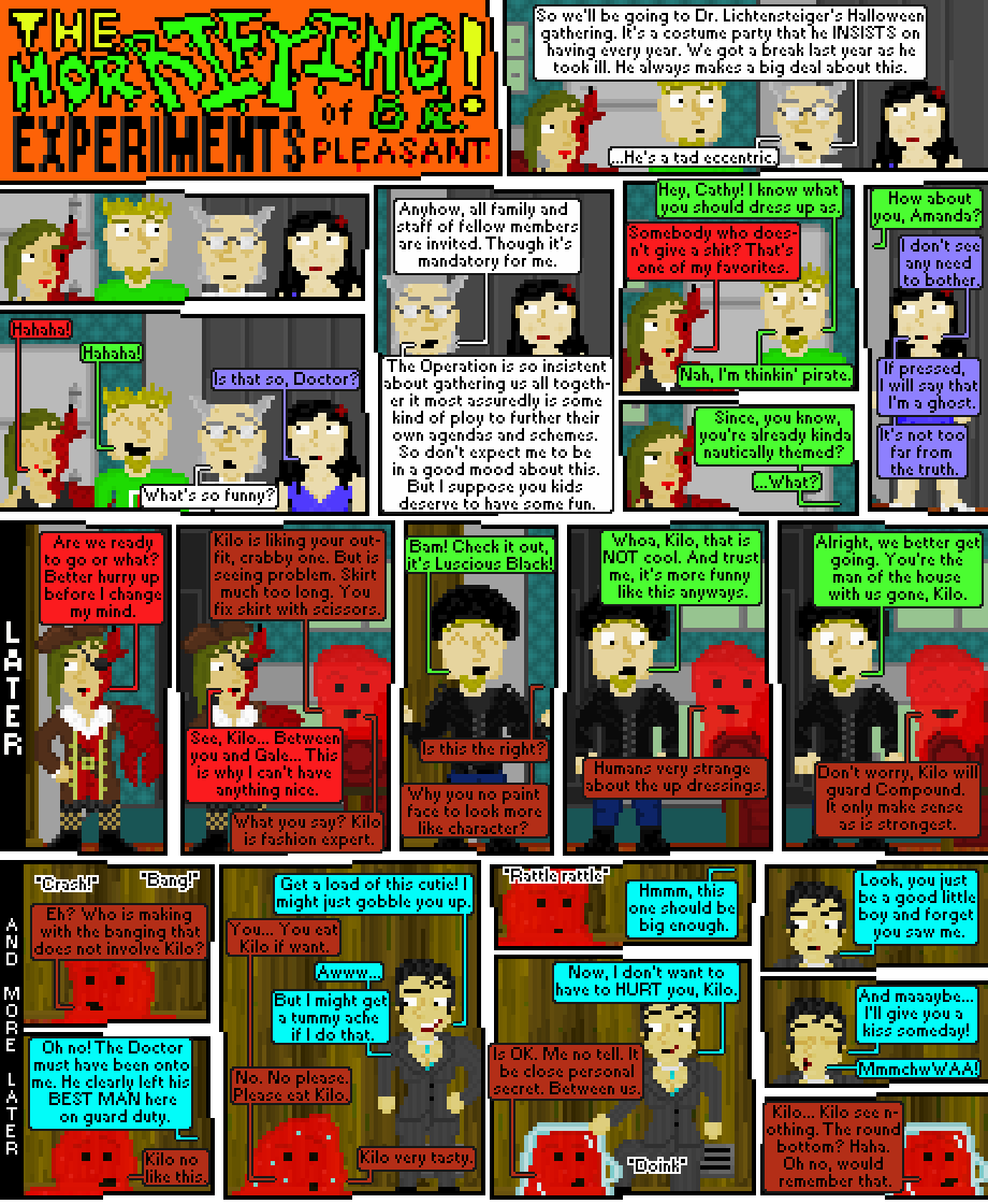 the horrifying experiments of dr. pleasant: halloween spooktacular, 2014: episode 1